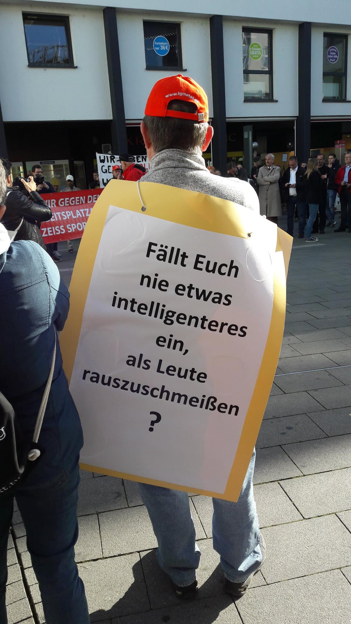 Demonstration Wetzlar